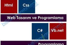 Web Tasarım ve Programlama / Web Tasarım ve Programlama Dersi Örnek ve Uygulamaları, Html, Css, Javascript, Asp.net Örnekleri