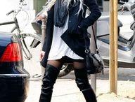 Stili di abbigliamento di strada d'inverno