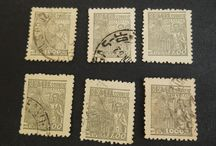 Vintage Postage Stamps / From Worldwide