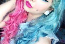 Cheveux 2 couleurs-2 colors