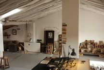 Artist Studios / Idiosyncratic working studio environments shaped by artists, designers and creatives