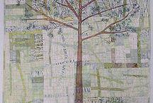 Trapunta con albero