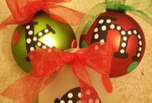 Handmade Christmas tree ornaments / by Tracy Budreau