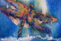 szitakötő, pillangó