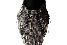 Photo shoot image board(Mesh Fish Scale Necklace)