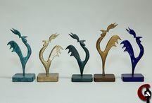 Sculptures stylisées