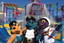 Captain, Cleo, Astro and Dusty / Our mascots Captain, Cleo, Astro and Dusty are always out and about in the resort so make sure you say hi!