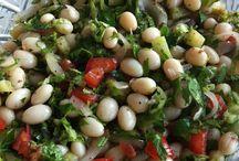 Barbunya salat