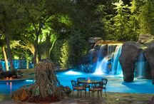 Backyard Gardens, Pools, & Spas / Lovely backyard gardens, pools, and spas. Great ideas await!! / by Shirley Hamm