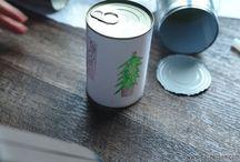 Casentbon : DIY / #diy #recyclageboiteconserve #ideeemballagecadeau #emballageoriginal #cadeau