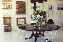 Antique mixed modern furnitures