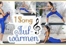 Warm Up / Hier findet ihr Übungen um euch auf euer Workout oder euren Sport vorzubereiten.