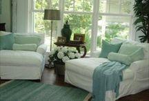 cozy living / by Amanda Frankie Anderson