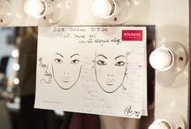 Bourjois at LFW / Backstage access to London Fashion Week with Bourjois.