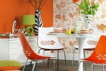 Orange Living / Dining Room & Accessories