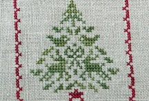 cross stitch-craciun