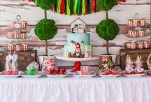 Red Riding Hood Party Ideas / Over the river and through the woods...get some fun ideas for your Little Red Riding Hood party.