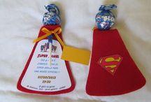 Convite super heroi