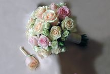My floral works / I'm a florist and this is my world. :) I love creating bridal bouquets.