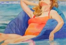 Poolside Paintings