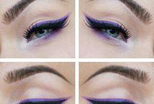 Rockabilly make-up