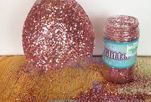 decorazioni glitter