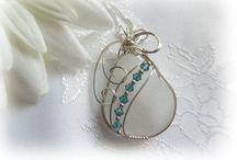 Jewellery Sea glass