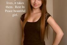Rest în peace Amanda Todd...You beautiful girl ..