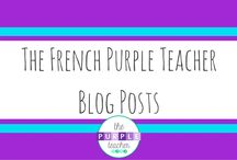 The French Purple Teacher Blog Posts