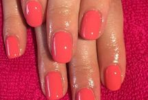 Summer Calgel Looks / Calgel Summer Nails