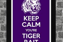GEAUX TIGERS / by Kelly Damron