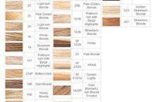 hair color charts