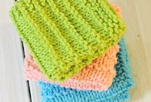 Dish clothes using cotton yarn