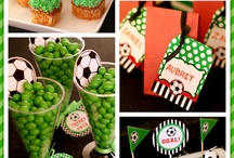 cumple jorgi / Football party ideas