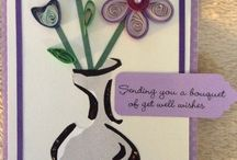 My quilled cards / Quilled cards