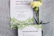 Wedding Stationary  / by Jacqui Painter
