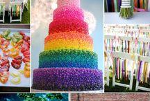 Rainbow wedding / by Marcia Davis