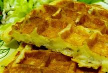 Gaufre pdt fromage