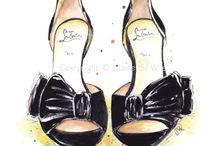 Рисунок. Обувь.