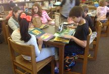 Library Center Ideas/Elementary / Ideas and tips for creating the best elementary library or media centers.