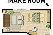 Arrumar uma sala pequena