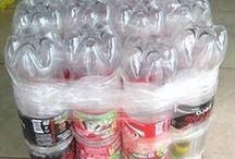 ¡Ideas para reciclar! / Diversas ideas que ayudarán a reciclar botellas de pásticos, vidrios u otro. Reciclemos!