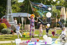 Przyjęcia dla Dzieci w Ogrodzie / Fests for Children in the Garden / Uroczystości w Ogrodzie dla Najmłodszych Gości Rezydencja Luxury Hotel****. Kinder Garden Party!