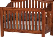 SVF Cribs / Solid hardwood cribs that convert from a  crib to youth bed and then finally to a full size bed!  All of our cribs our locally, amish made in Holmes county Ohio.