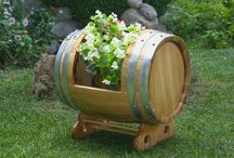 Wooden garden decoration / For the lovers of beautiful (and hopefully original) wooden handcrafts.