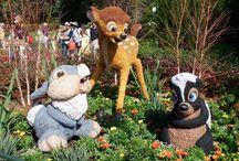 Disney's magische bloemen en potten / Disney kan aardig wat toveren met bloemen en potten!