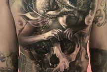 Tattoos Man