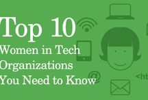 Women in Tech / We are proud supporters of women in tech!  Girl coders are ! #womenintech