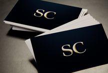 Nos réalisations : cartes de visite / Conception et impression de cartes de visite