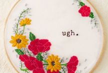 Cross stitch / by Julia Gatlin